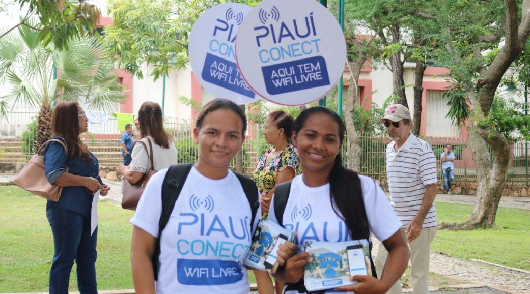 Piauí Conectado vai levar cobertura de internet a 100% do estado