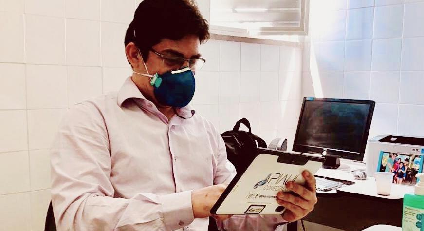 Tecnologia facilita comunicação de pacientes e profissionais no HGV
