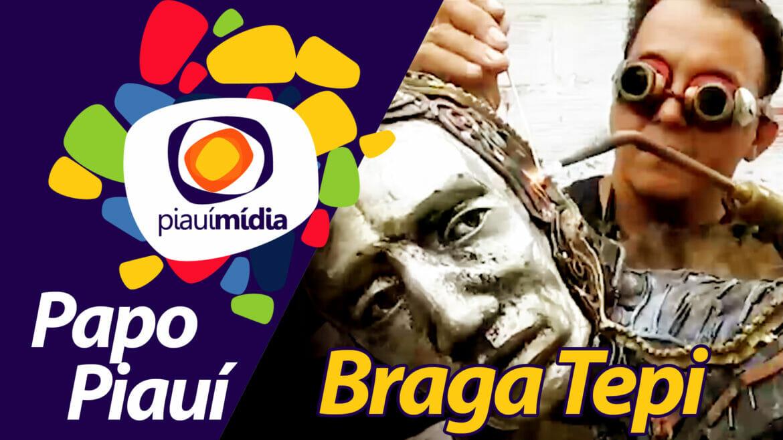 Braga Tepi trabalha com esculturas ganham vida