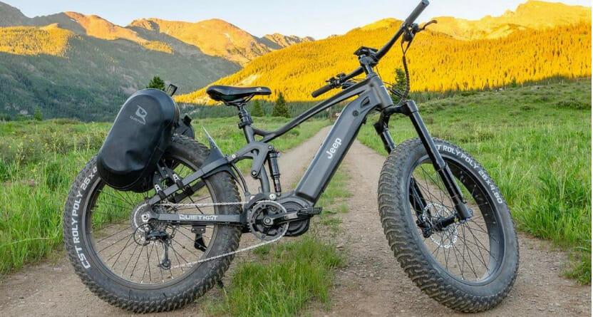 Como a Jeep formou uma parceria para criar sua primeira bike elétrica