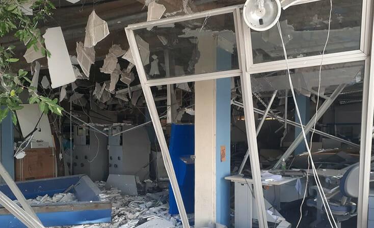 Grupos armados explodem caixas eletrônicos de agência do interior e no TRE-PI