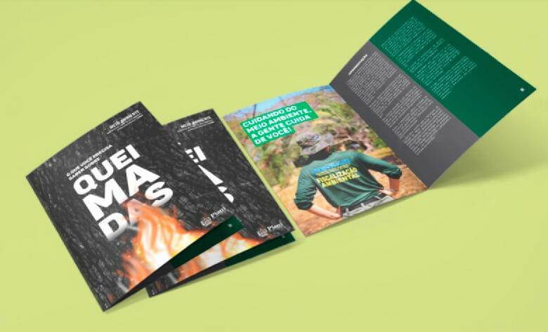Semar disponibiliza cartilha digital com informações sobre queimadas no Piauí