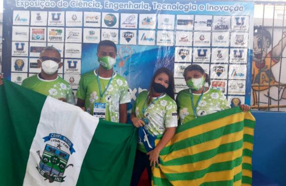 Escola da EJA de Campo Maior conquista 1º lugar em Exposição de Ciência e representará o Brasil no México