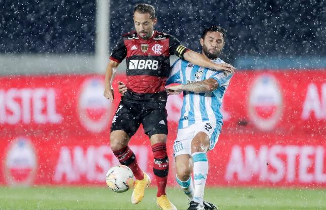 Flamengo e Racing empatam no primeiro duelo das oitavas da Libertadores