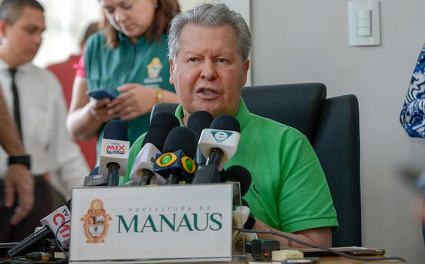 """""""O nome disso é assassinato"""", diz Arthur Virgílio Neto sobre a falta de oxigênio em Manaus"""