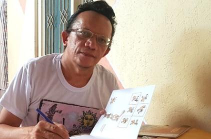 Cartunista Jota A lança novo trabalho nesta quinta, em Shopping de Teresina
