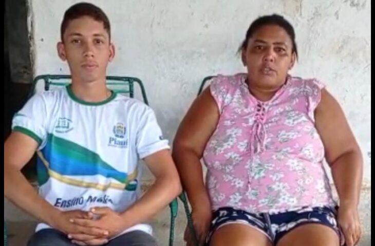 Em São Félix do Piauí, Mãe e filho de superam dificuldades para continuar estudos na mesma escola
