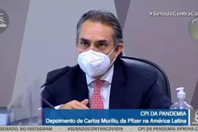 CPI da Covid: diretor da Pfizer diz que governo rejeitou 8 propostas por vacinas