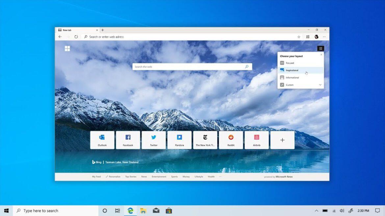 Microsoft Edge permite enviar guias entre dispositivos
