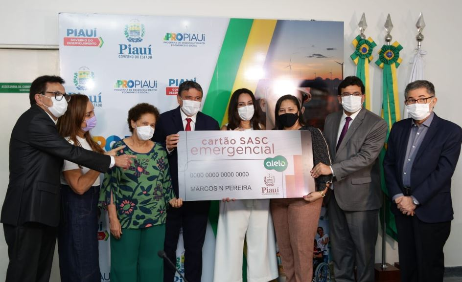 Cartão Sasc Emergencial é lançado e beneficiará 15 mil famílias em extrema pobreza