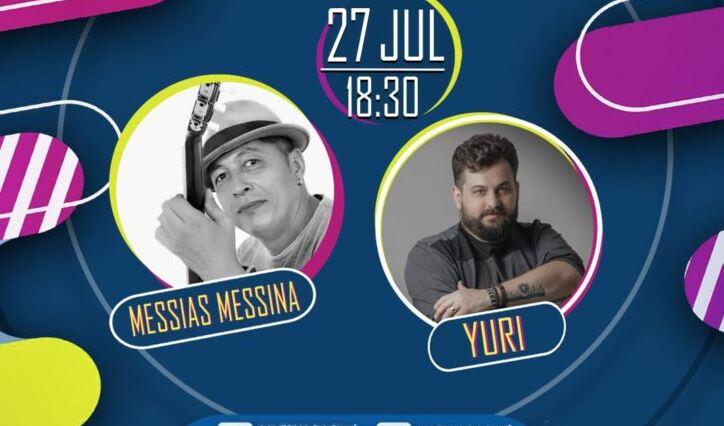Live Show das Férias apresenta Messias Messina e Yuri nesta terça (27)
