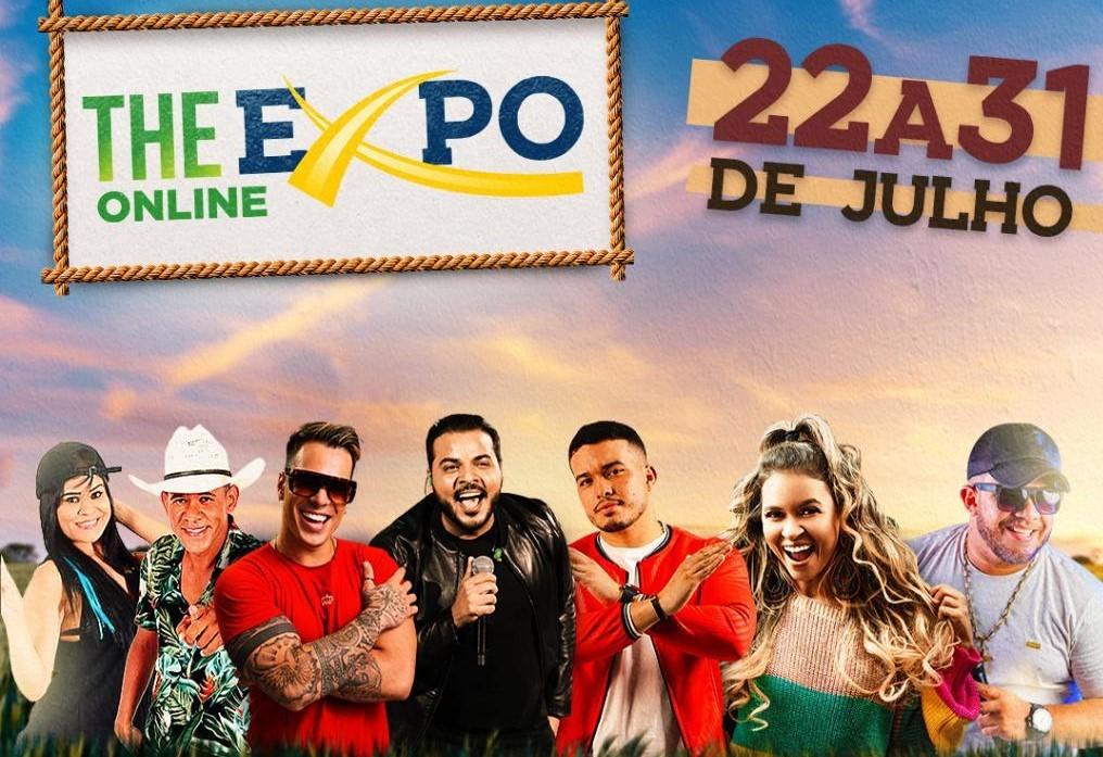 Feira Agropecuária THE EXPO 2021 segue até 31 de julho. Hoje tem Forró Bandido. Veja Programação completa