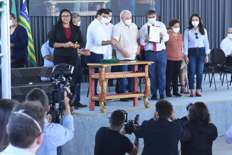 LULA NO PIAUÍ – Lula inaugura escola em Teresina – FOTOS