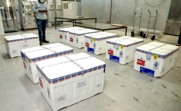 Piaui recebe lotes de CoronaVac e Pfizer