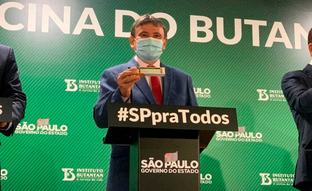 Governador oficializa compra direta de Coronavac e Piauí vai receber 500 mil doses de vacinas