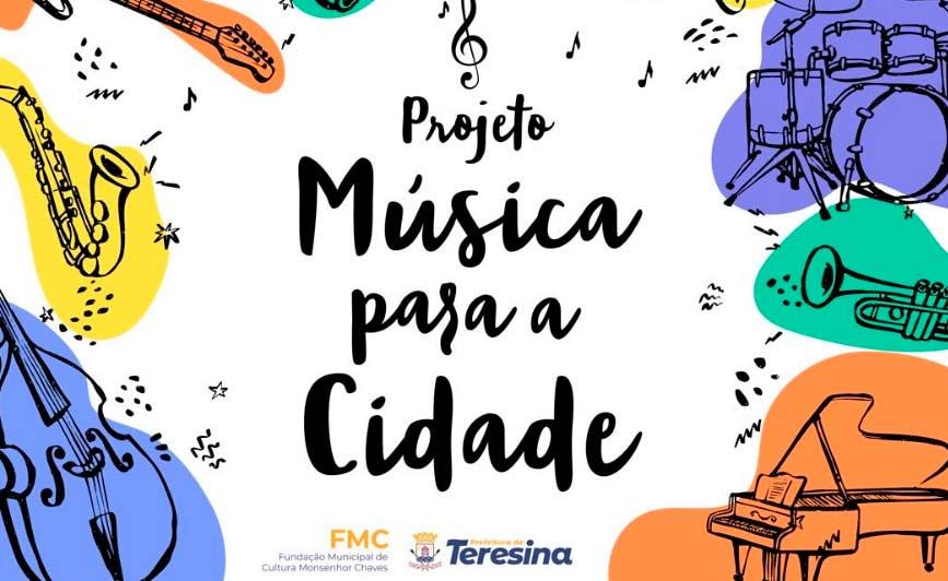 """Projeto """"Música para a Cidade"""" será lançado neste sábado (11)"""